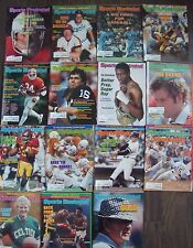 LOT OF 15 VINTAGE SPORTS ILLUSTRATED MAGAZINES ALL FROM 1981