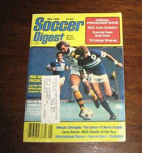 Soccer Digest Magazine -May 1980 Annual Preseason Issue-Larry Hulcer NASL Rookie