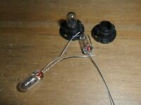Scalextric 2 easy fit light bulbs (Porsche Mondeo Renault BMW etc) car spares.