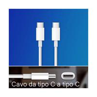 Cavo per Huawei Type-C to USB-C Tipo C - C Xiaomi Samsung supporta Carica rapida