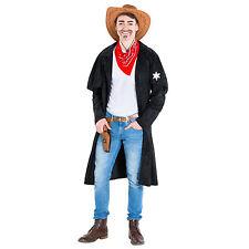 Herrenkostüm Cowboy Sheriff Western Wilder Westen Fasnacht Karneval Chap Cowgirl