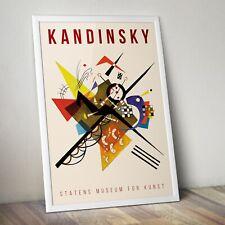 Kandinsky Art Print, Kandinsky Wall Art, Exhibition Poster, Home Decor