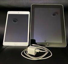 Two (2) Apple ipad(s) - 32gb ipad mini '2' & 16gb Original ipad - Mint Condition