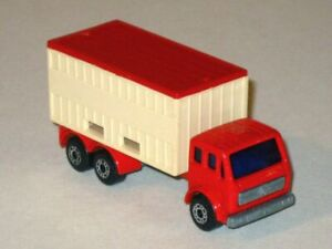 Vintage 1976 MATCHBOX Lesney Superfast No. 42 MERCEDES CONTAINER TRUCK!