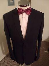 "TED BAKER Endurance Men's Navy 'UNDA' Suit Jacket C40"" Regular Classic Fit Wool"