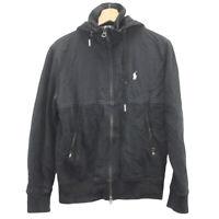 J7 Vintage Polo RL Ralph Lauren Tactical Jacket Full Zip Fleece Men's Size Small
