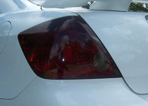 05-10 SCION TC SMOKE TAIL LIGHT + 3RD BRAKE LIGHT TINT COVER SMOKED OVERLAYS