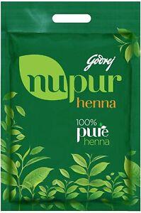 Godrej Nupur 100% Pure Henna Mehendi Natural Conditioning Antidandruff 400 gm