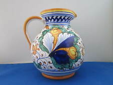 Fiori, Made in Italy, Two Quart (Liter) Pitcher with Certification Sticker