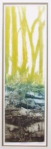 """Ruth Rodman """" Reflection II a """" Hand Signed Carborundum Etching with Aquatint"""