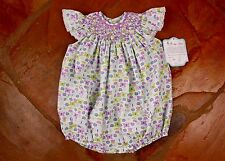 NEW Remember Nguyen Butterfly Bubble 18 mths Girls Smocked RN200