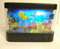 Discovery Kids Living Ocean Aquarium Picture Motion Moving Lamp Night Light