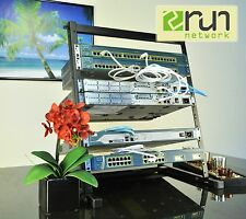 Cisco  CCENT CCNA CCNP VOICE R&S SECURITY Home Lab KIT 12U Desktop Rack Incl