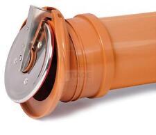 Rohrklappe 160 mm für Kanalisationsrohre KG Rohr Abfluss Kanal Rückstau Klappe