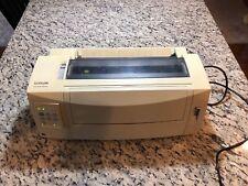 Lexmark Forms Printer 2590 Standard Dot Matrix Printer Power Cord NOT Included