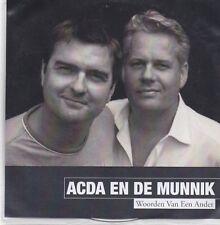 Acda En De Munnik-Woorden Van Een Ander Promo cd single