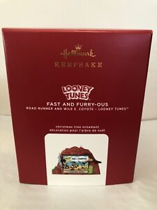 2020 Hallmark Keepsake Looney Tunes ~Fast And Furry-Ous ~ Ornament New In Box