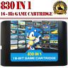 830 In 1 DIY Mega Drive | Genesis SEGA Multi Cart NTSC and PAL 16 Bit Game Card