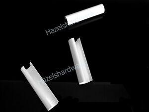x3 PACK, SFS Intec Dynamic 2D White uPVC Centre Tube Hinge Cover Caps PVCu Doors
