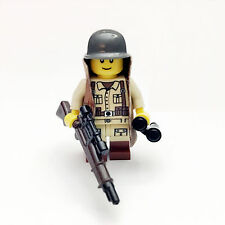 Lego WW2 US Army Minifigure Sniper 36th Texas Guard Soldier Free Shipping SNUS08