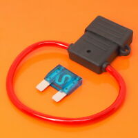 High Quality Maxi Blade Fuse Holder with 60 Amp Blue Fuse Car Van Boat Fuses
