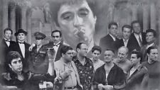 "THE Godfather Goodfellas Scarface Sopranos Canvas 20""x30"""