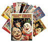 Postcards Pack [24 cards] Vintage Circus Posters Clowns Athletes Show CC1011