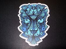 "MANIK APPAREL Art Sticker 3.5"" LION Color skate skateboard from poster print"