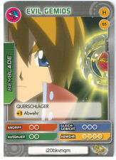 H 65 Evil gemios-DeAgostini Beyblade Battle card Collection 2011 (6)