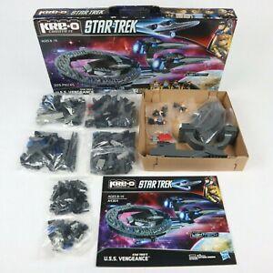 Kre-O Star Trek A4364 Star Trek's U.S.S. Vengeance 2012 Hasbro New *Open Box*