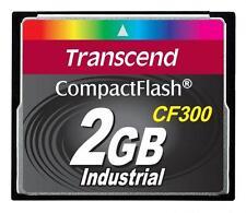 Transcend Industrial 2GB CompactFlash I Karte - (TS2GCF300)