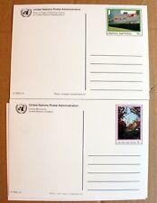 United Nations – Set of UN Postcards (5) – Mint (Se6)