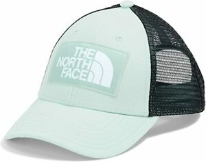 The North Face Youth Unisex Mudder Trucker Snapback Hat (Sea foam Green/Teal) OS