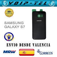 TAPA TRASERA BATERÍA SAMSUNG GALAXY S7 G930F G930 COLOR NEGRO  BACK COVER  BLACK