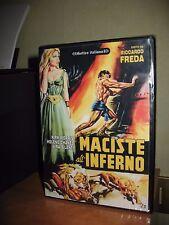 MACISTE ALL'INFERNO DVD NUOVO RICCARDO FREDA KIRK MORRIS PEPLUM