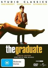 The Graduate * NEW DVD * Anne Bancroft Dustin Hoffman (Region 4 Australia)