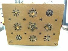 AWESOME Vintage Original Box Bag By Enid Collins Of Texas - Mille Fleur 1967
