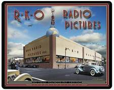 RKO Studio Radio Pictures 1940 Films Movies Metal Sign Hollywood Decor LG515