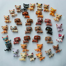 5pcs Random LPS toys dachshund dog short hair cat littlest pet shop lot gift