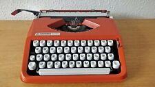 Hermes Baby 1975 Cursive Script Font typewriter