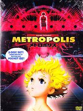 Metropolis (DVD, 2002, Widescreen, 2-Disc Set, Region 1) New Sealed Free Ship