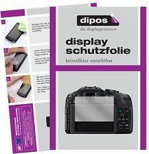 6x Panasonic Lumix DMC-G5KEG-K Schutzfolie klar Displayschutzfolie Folie Display