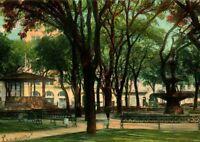 Vtg Postcard 1907 Mobile Alabama - Bienville Square UDB - Rotograph Co Pub