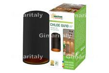 Portafaretto Rotondo Nero da Soffitto GU10 Spectrum