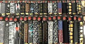 """Hair Glove® Pony Tail Holders Hair Wraps 4""""-12"""" Rhinestones Leather Lace"""