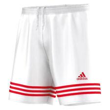 adidas Entrada 14 Shorts Kids White Red 152