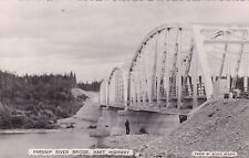 RP; Parsnip River Bridge, Hart Highway, B.C. , Canada, 30-40s