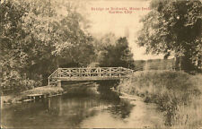 LETCHWORTH (Herts): Bridge at Radwell.River Ivel,Garden City
