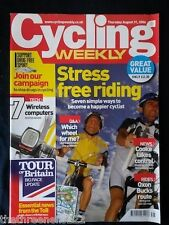 CYCLING WEEKLY - STRESS FREE RIDING - AUG 31 2006