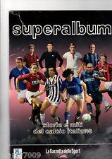 SUPERALBUM=STORIA E MITI DEL CALCIO ITALIANO=COMPLETO